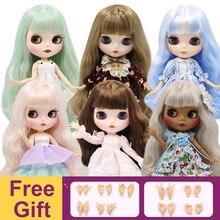 קפוא מפעל Blyth הבובה משותף גוף DIY BJD צעצועי 30cm 1/6 אופנה בובות ילדה מתנה הצעה מיוחדת על מכירה