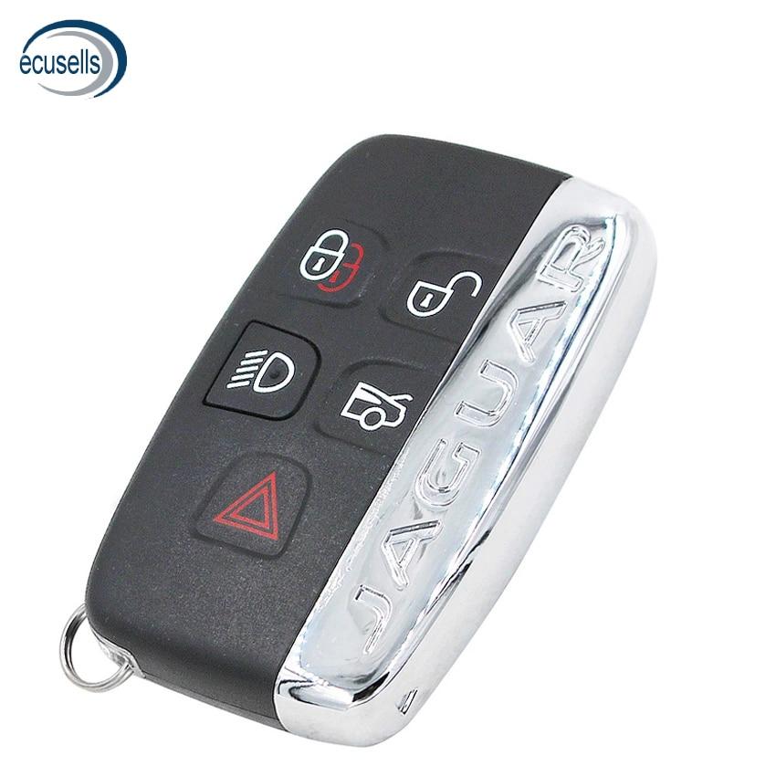 5 кнопочный смарт ключ чехол для JAGUAR XJ XJL XF со словами|Ключ от авто|   | АлиЭкспресс