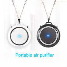 Necklace Air-Freshener Wearable Negative-Ion No-Radiation Low-Noise Personal Mini USB
