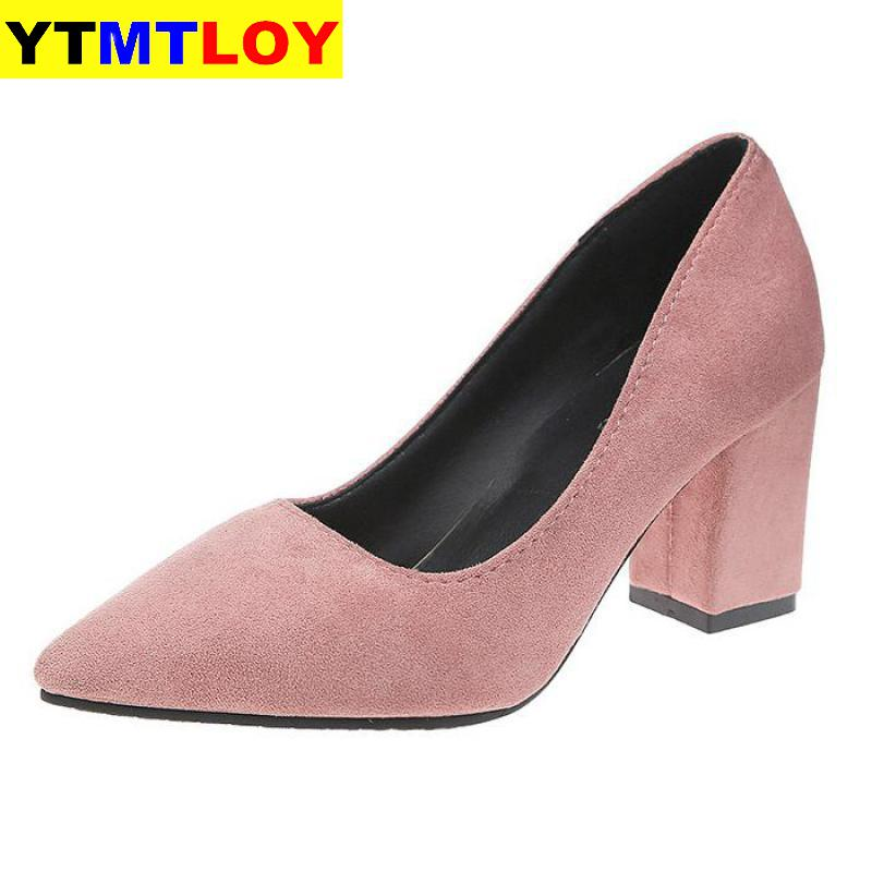 Big Size 33-48 Pointed Toe <font><b>Fetish</b></font> Luxury Designer Woman Extreme Mules Super High Heels Women <font><b>Sexy</b></font> <font><b>Shoes</b></font> Ladies Pumps Square Heel image