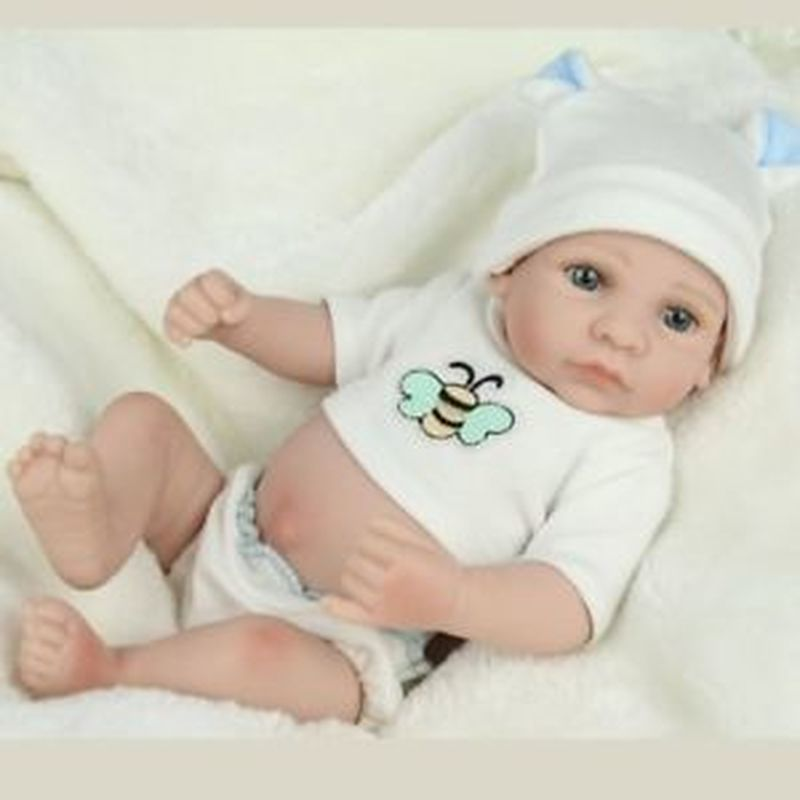 Rrborn Doll Clothing For 10inch Baby Girl Boy Doll Custom Made Outfit Blabket Dolls Baby Dolls Toys For Children 18 Inch Doll