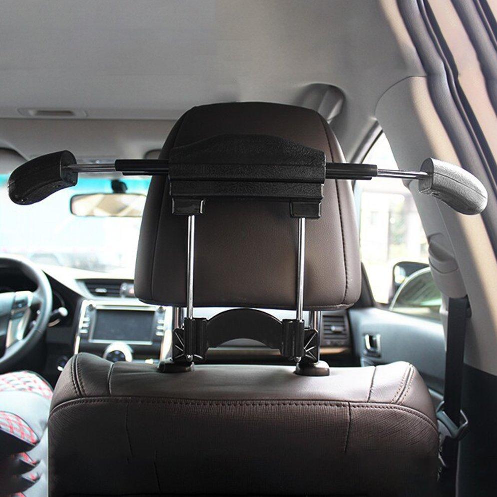 Mini Car Clothes Hanger Durable Clothes Rack Coat Hanger Extension-type Car Use Hanger Car Accessory Easy Installation