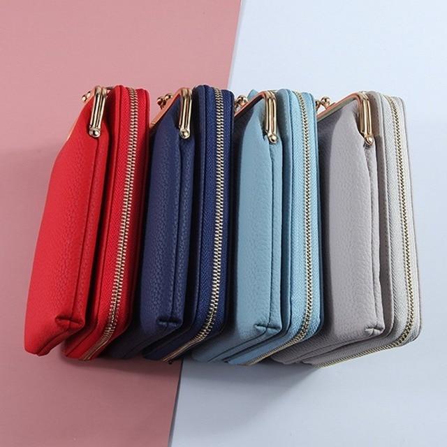 HOT Fashion Small Crossbody Bags Women Mini Matte Leather Shoulder Messenger Bag Clutch Bolsas Ladies Phone bag Purse Handbag 2