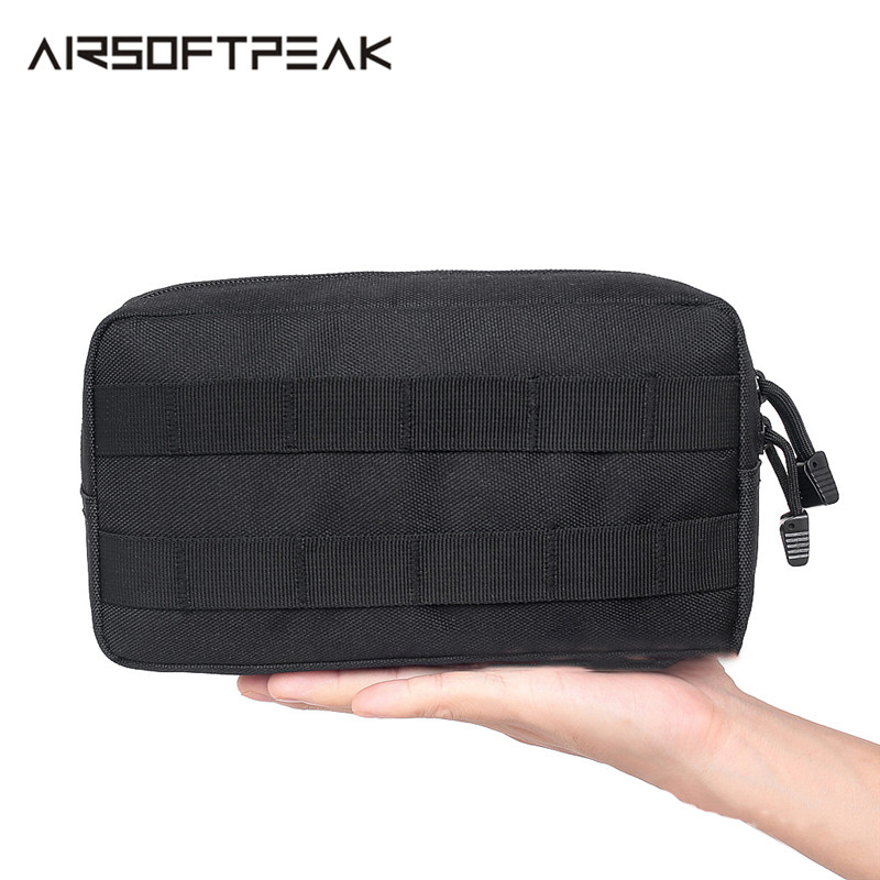 AIRSOFTPEAK Tactical EDC Pouch Military Belt Pouch Hunting Pack Tool Pocket Accessories Bag Army Utility Field Sundries Pouch image