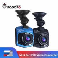 Podofo Mini Car DVR GT300 Videocamera Portatile Della Macchina Fotografica 1080P Full HD Video registrator Parcheggio Registratore di Visione Notturna del G-sensor dash Cam Dvr