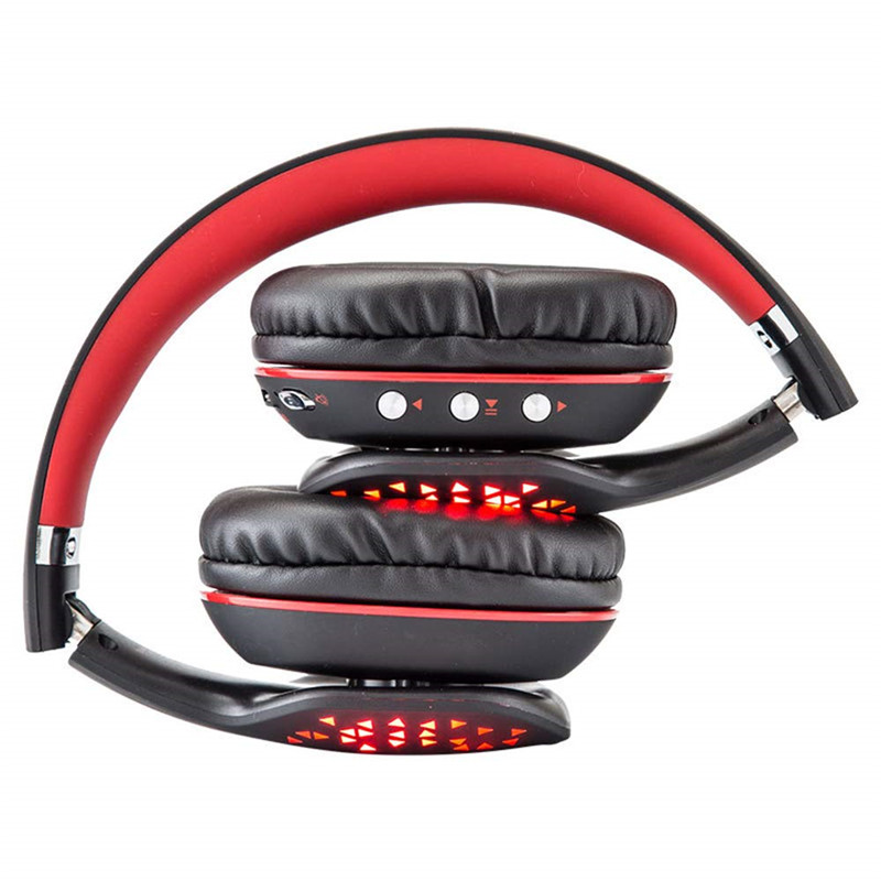 Переносная bluetooth гарнитура беспроводные Складные стерео наушники с микрофоном Музыкальная гарнитура для IPhone Xiaomi huawei B3507 - 6