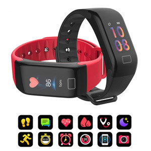 Image 1 - F1 Plus Smart Band Blood Pressure Waterproof Color Screen Sports Bracelet Heart Rate Monitor Wristband