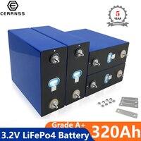 4 batterie di grado A 3.2V 300AH LiFePo4 batterie fai da te 12V 24V 48V 320ah batteria ricaricabile litio ferro fosfato ue nessuna tassa