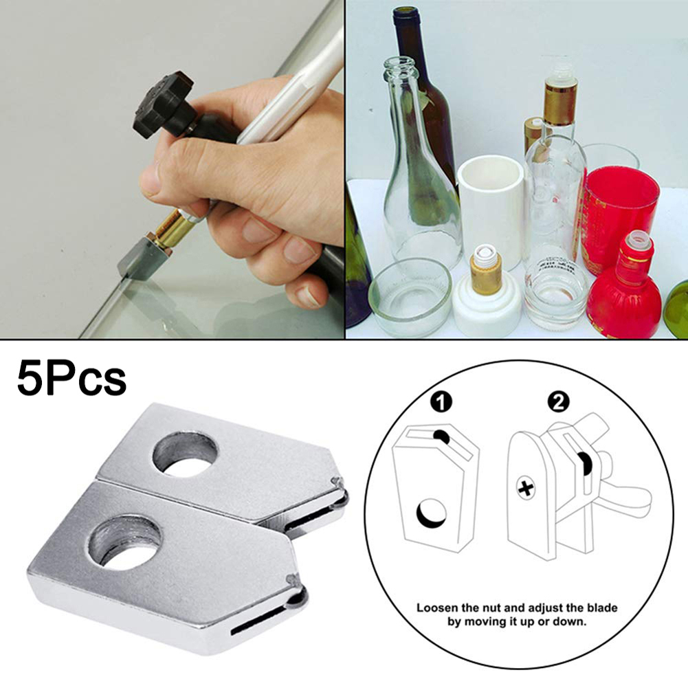 5pcs Head Glass Cutter Replacement Parts For Home Diy Crafts Handmade  Profession Wine Bottle Cutting