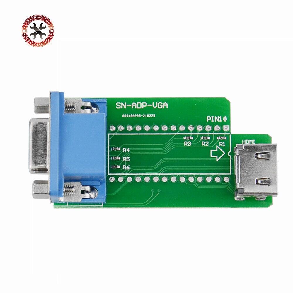 Новое поступление SN-ADP-VGA адаптера для XGecu T56 программист Поддержка VGA интерфейс HDMI-Совместимость с бесплатной доставкой