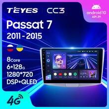 TEYES CC3 For Volkswagen Passat 7 B7 NMS 2011 - 2015 Car Radio Multimedia Video Player Navigation stereo GPS No 2din 2 din dvd