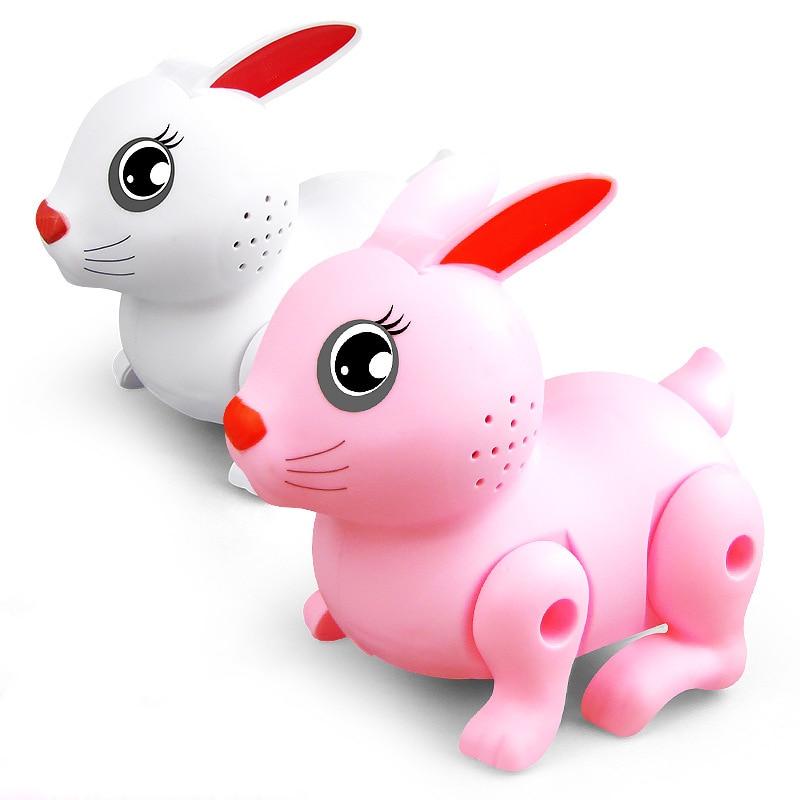 Electric Dancing Walking Music Lighting Rabbit Toy Animal Doll Educational Robot Kids Toy