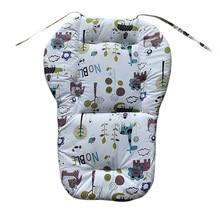 F-B Universal Baby Stroller Seat Cover Cotton Mat High Chair Seat Kids Pushchair Cart Cushion Baby Stroller Pram Liner Pads