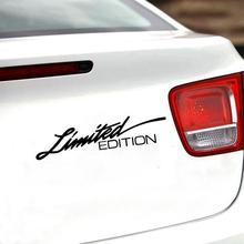 אוניברסלי דקורטיבי מדבקת מהדורה מוגבלת רכב Rreflective מדבקות עמיד למים Creative ויניל מדבקת אביזרי 16*3.8cm