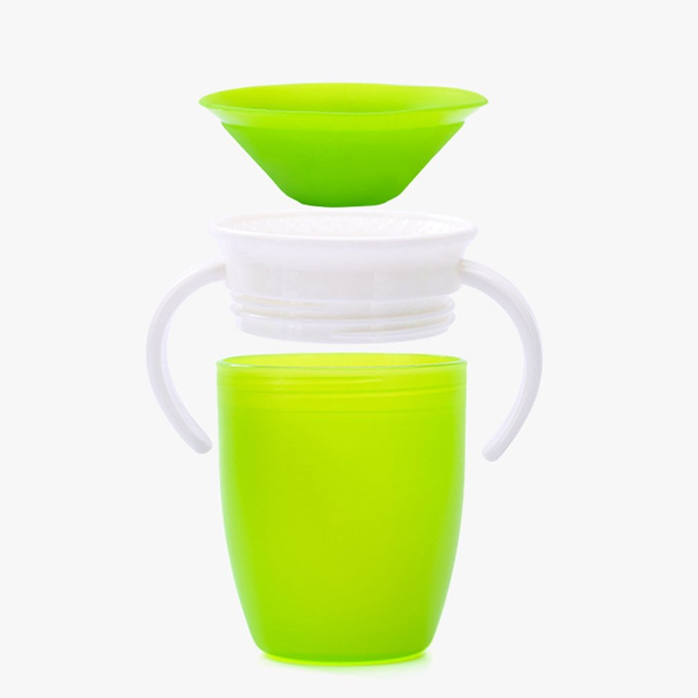 360 Degree Baby Leak-Proof And Anti-Smashing Cup Leak-Proof Baby Infant Child Drinking Cup Learning Cup