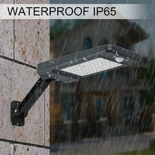 60 LED Solar Lamp PIR Motion Sensor Wall Light With Remote Control Waterproof Solar Powered Lamp Outdoor Garden Yard