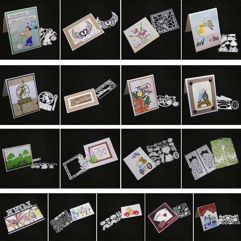 1x Its A Boy Design Metal Cutting Dies For DIY Scrapbooking Album Paper Cards DS