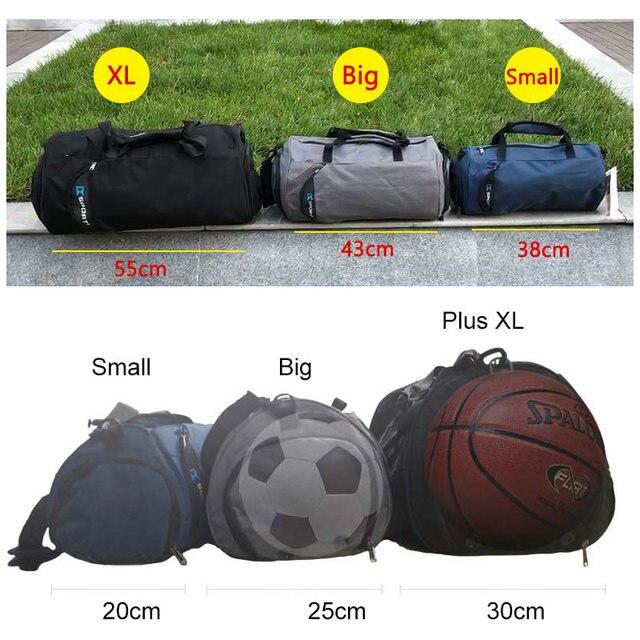 Bolsa | Mochila esportiva multifuncional a prova d´agua + saco para coisas molhadas