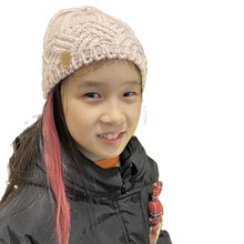 Зимняя шапка для девочек модные шапки детей милая плотная и