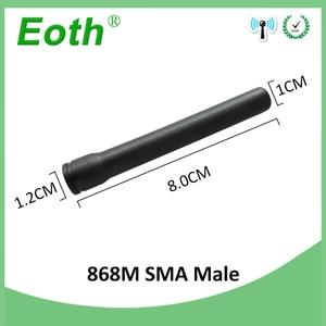 Image 2 - 5pcs 868 MHz 915 MHz אנטנת 3dbi SMA זכר ישר antena GSM antenne 868 MHz 915 MHz אנטנות gsm אות מהדר Lorawan