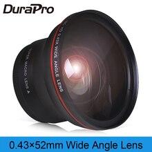 52mm 0.43x Professional HD Wide Angle Lens (w/Macro Portion) for Nikon D7100 D7000 D5500 D5300 D5200 D5100 D3300 D3200 D3100 D30