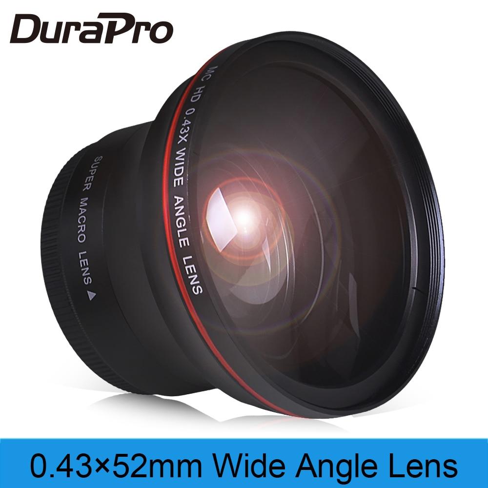Angular com Porção Macro para Nikon Profissional Lente Grande D7100 D7000 D5500 D5300 D5200 D5100 D3300 D3200 D3100 D30 52mm 0.43x hd