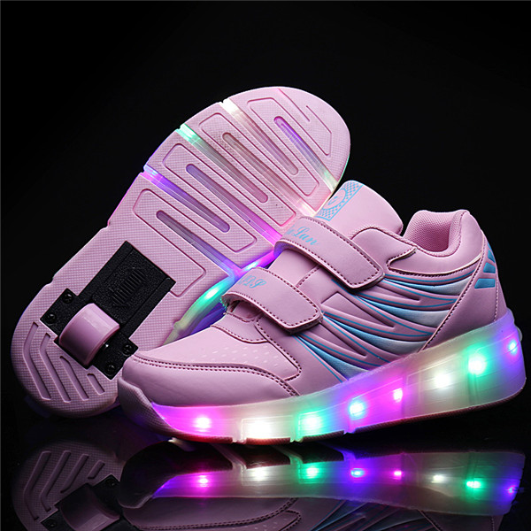 light up shoes girl
