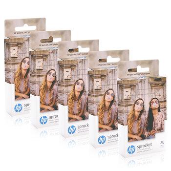 Topcolor papier fotograficzny HP ZINK do HP zębatka drukarka fotograficzna druk Bluetooth kieszonkowy Mini lepki papier fotograficzny 5*7 6cm tanie i dobre opinie 2*3inch (5*7 6cm) zink photo paper 20 sheets box single side HP Sprocket HP Sprocket 2-in-1 Photo Printer HP Sprocket Zink Photo Paper
