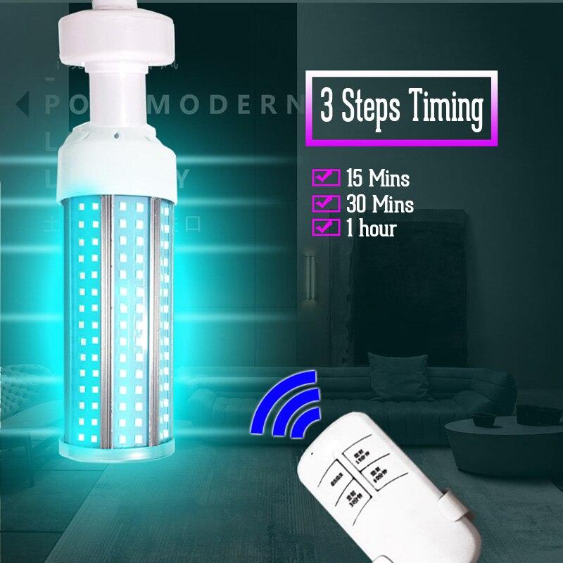 Uvc Lamp Sterilizer Disinfectant 60w E27 Germicidal Uv Lamp