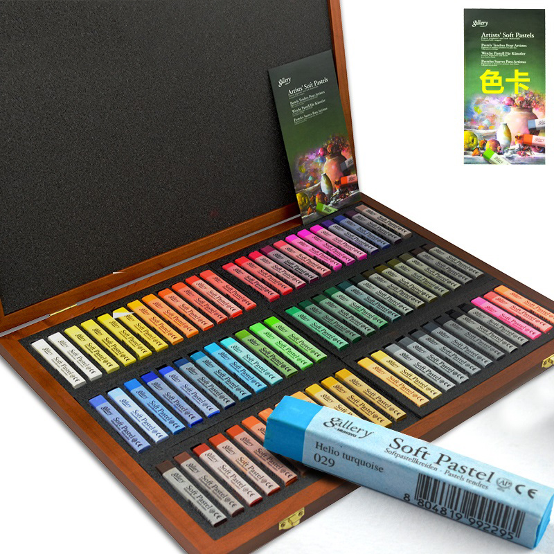 Penlab 12/24/36/48/72 Colors Gallery Artists Soft Cakes Best Pigment Each Cake The Stick Is Wrapped Art Drawing Supplies
