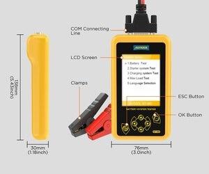 Image 5 - AUTOOL – testeur de batterie automobile, outil de Diagnostic de charge rapide, analyseur de batterie automobile, 12V 24V, BT460, PK KW600
