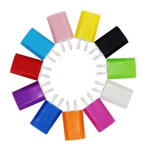 Image 5 - 뜨거운 판매 고품질 유럽 EU 플러그 USB AC 여행 벽 충전 충전기 전원 어댑터 애플 아이폰 6 6S 5 5S 4 4S 3GS