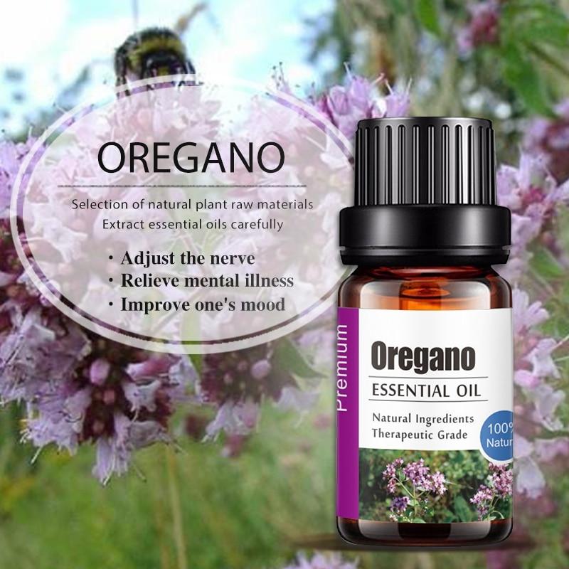 Pure Natural Oregano Aromatherapy Essential Oils Anti-stress Aroma Diffuser Oil Hot