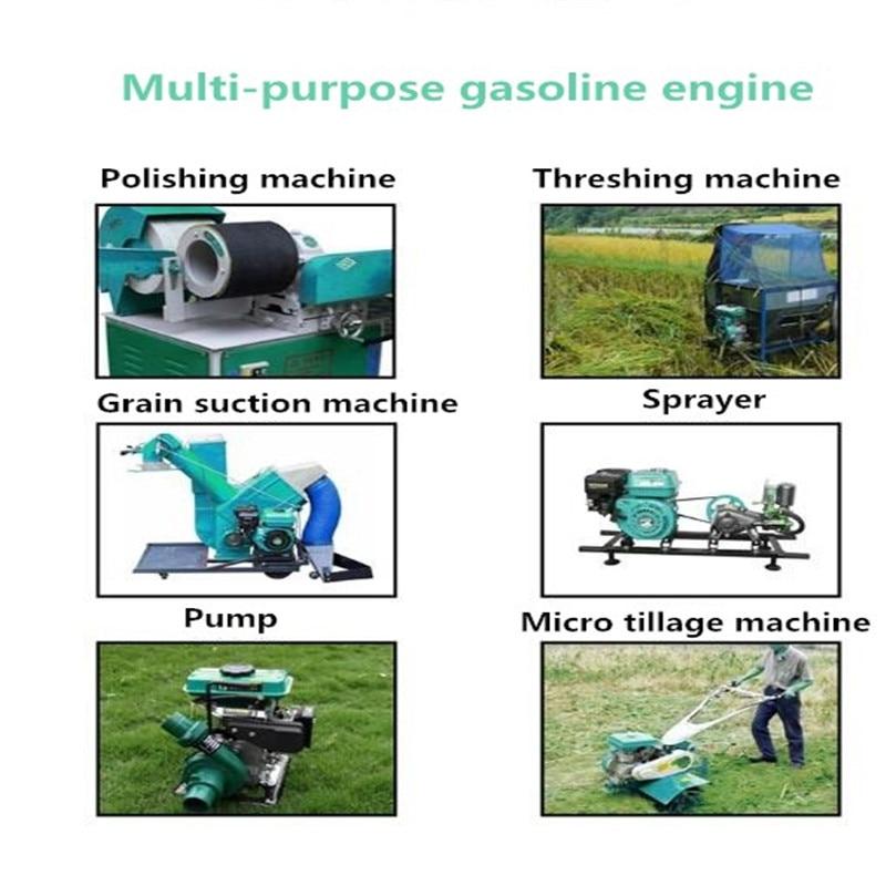 ar único motor a gasolina do cilindro