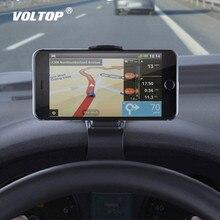 """ผู้ถือโทรศัพท์Universal Carอุปกรณ์เสริมแดชบอร์ดตกแต่ง4.0 """"To 6.5"""" โทรศัพท์มือถือClamp GPS Navigation Mount Stand"""