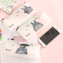 Learn Stationery small fresh and lovely cartoon animal pen bag pectin pencil creative stationery