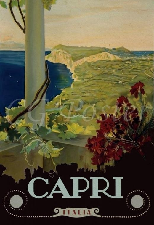 Vintage-Style Travel Posters