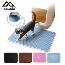 Коврик для кошачьего туалета mosodo водонепроницаемый двухслойный