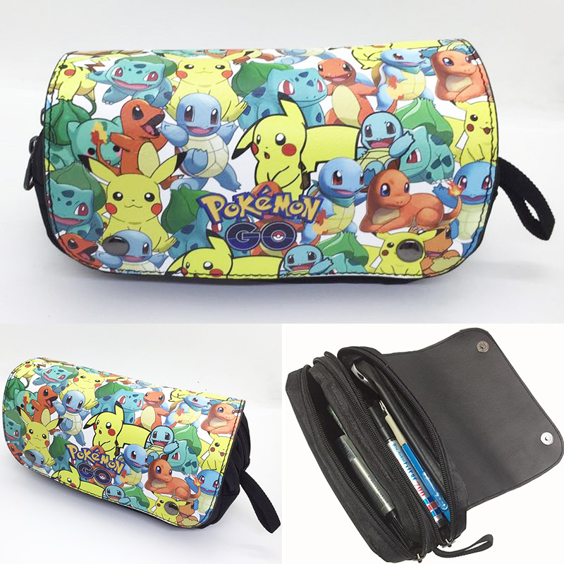 kawaii-cartoon-font-b-pokemon-b-font-pen-pencil-bags-canvas-leather-purse-japanese-anime-pikachu-cute-cartoon-stationery-bag-case-kids-wallets