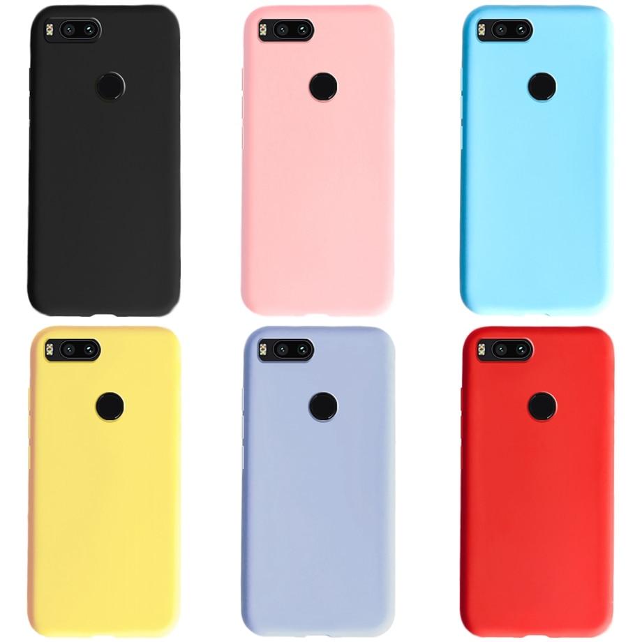 For Xiaomi Mi A1 Case Silicon Soft Matte TPU Phone Case Back Cover For Xiaomi MiA1 Mi 5X Xiomi Mi A1 Cases Bumper Coque Funda(China)