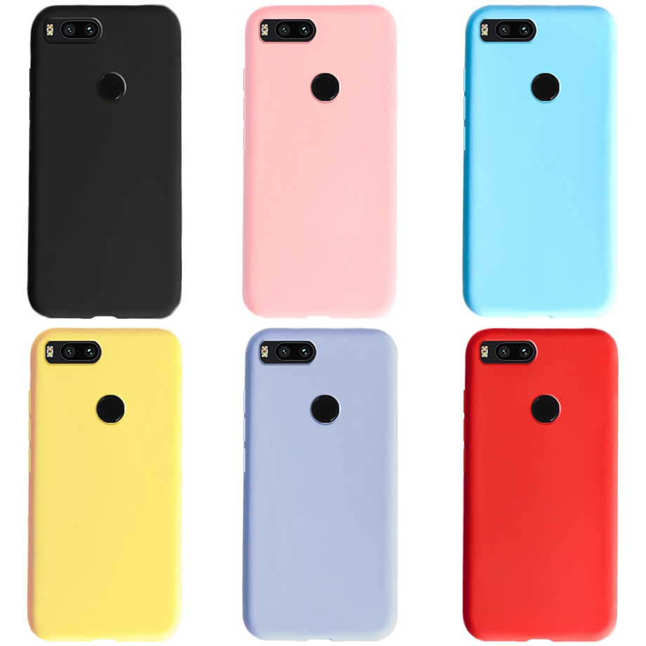 For Xiaomi Mi A1 Case Silicon Soft Matte TPU Phone Case Back Cover For Xiaomi MiA1 Mi 5X Xiomi Mi A1 Cases Bumper Coque Funda