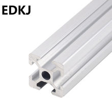 100-750MM 2020 aluminum profile extrusion linear rail automatic equipment framework DIY 3D printer workbench CNC