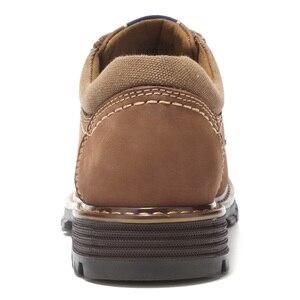 Image 4 - CAMEL buty męskie skóra bydlęca dorywczo peeling Retro matowy prawdziwej skóry zestaw stóp żeglarstwo buty mężczyźni wygodne dno męskie obuwie