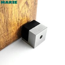Aluminum Silver Color Door Stopper,Square Door Stop цена 2017