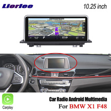 Liorlee 자동차 HD 스크린 디스플레이 TV BMW X1 F48 2016 2017 자동차 안 드 로이드 라디오 오디오 비디오 스테레오 GPS 네비게이션 멀티미디어 시스템