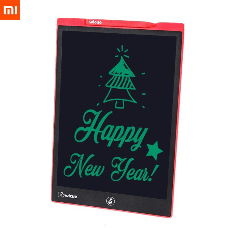 Image 2 - New Xiaomi Wicue 12 Inchs / 10 Inch LCD Handwriting Board Writing Tablet Digital Drawing Imagine Pad Expanding Idea Pen for KidsSmart Remote Control   -