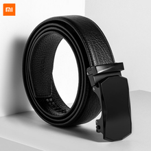 Xiaomi VLLICON Genuine Leather Belt First Layer Cowhide Geometric Cutting Automatic Buckle Male Business
