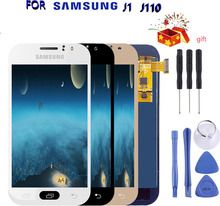 цена на Can Adjust J1 Ace LCD Display For Samsung Galaxy J1 Ace J110 J110F J111 J111F LCD Touch Screen Digitizer Assembly Replacement