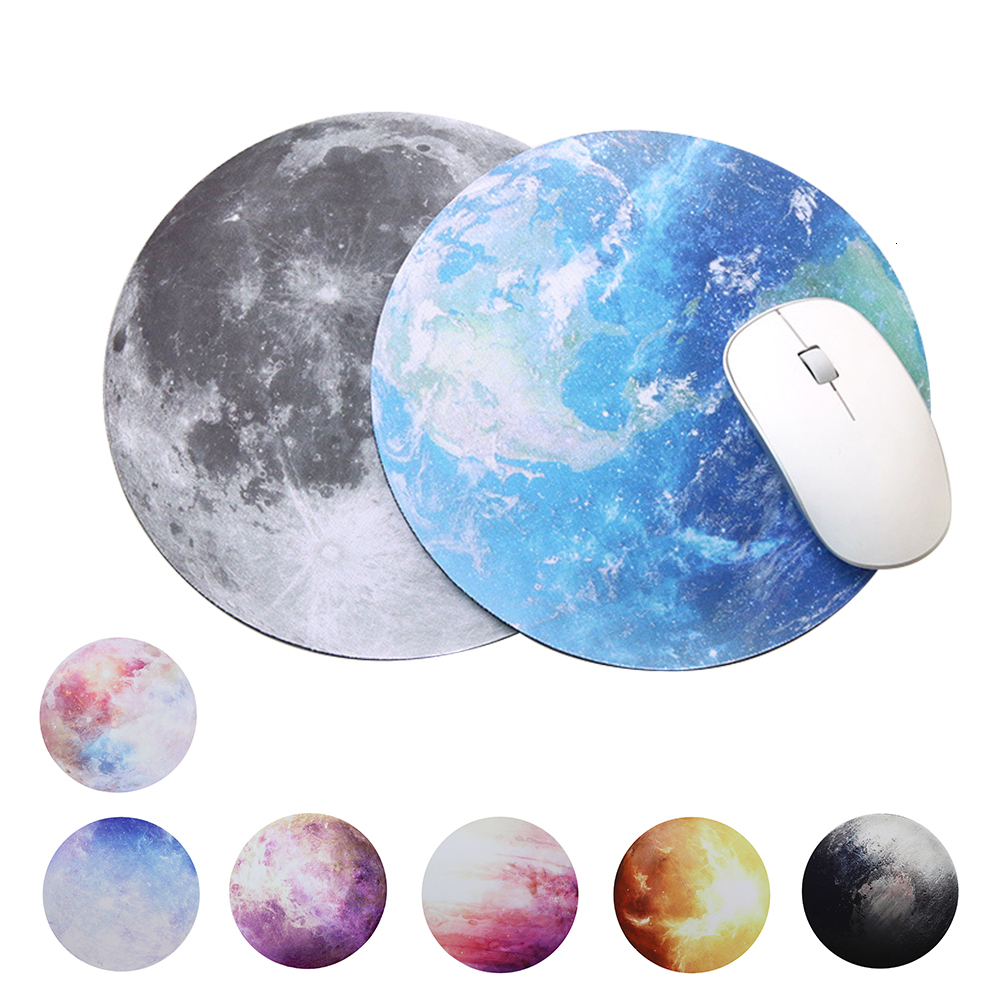 Universe Space Planet Mouse Pad Laptop PC Computer Gaming Desk Mat Gamer Mousepad Earth Moon Mars Venus Mercury Jupiter Pluto