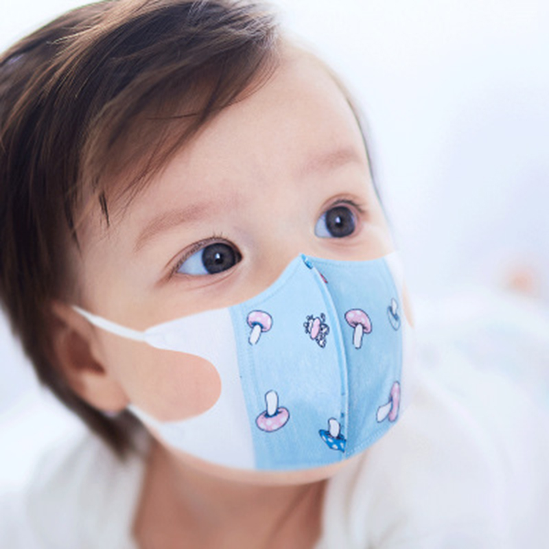 20PCS/lot 0-3 Years Old KIDS 3Layer Disposable Face Masks Air Pollution Protection Masks For Health Children Mask